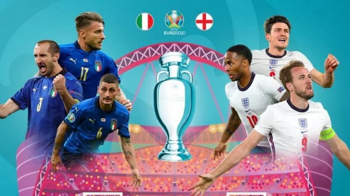 نهائي يورو 2020 : قمة نارية بين إنقلترا و إيطاليا