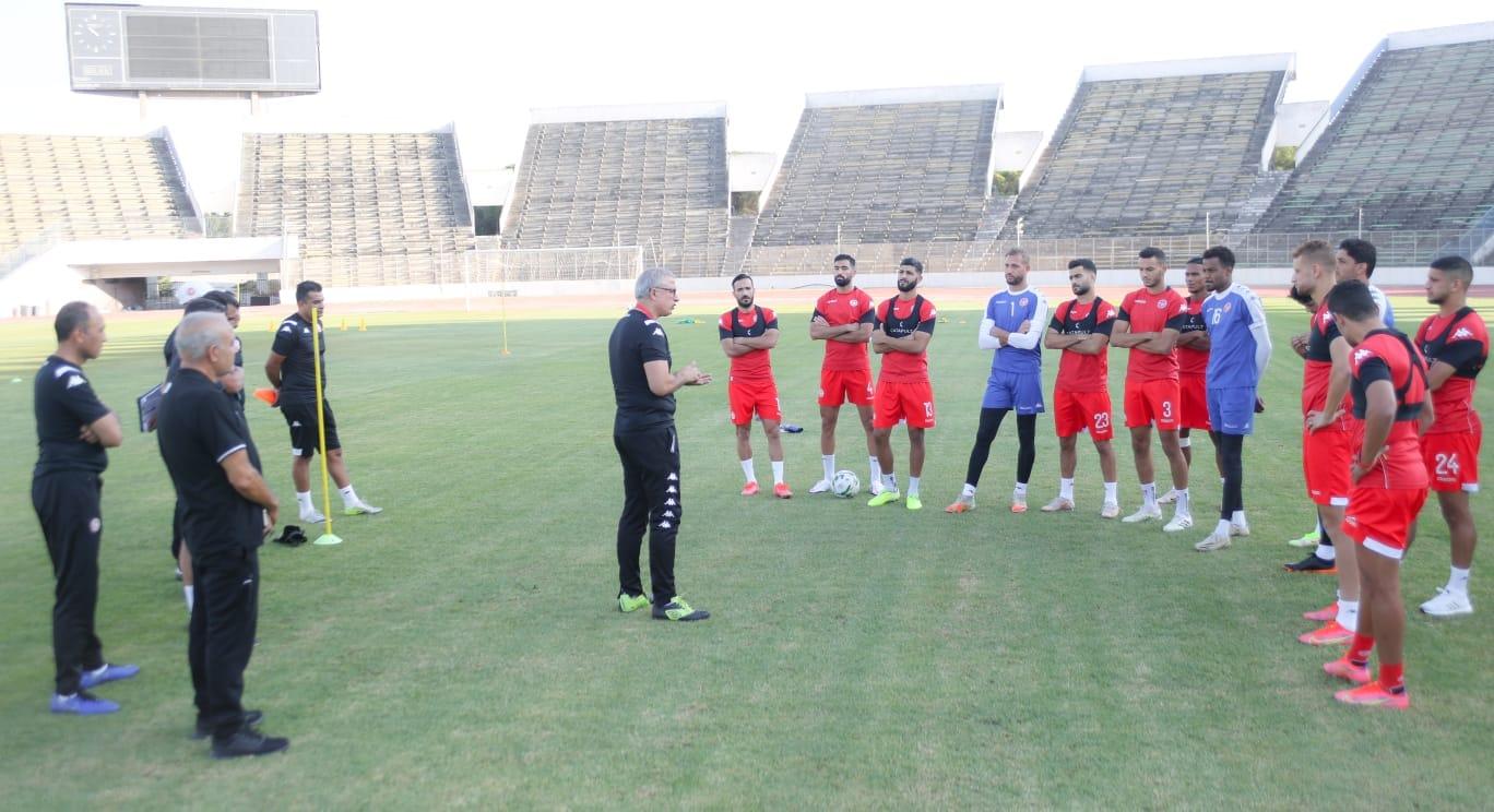 تحضيرات منتخب الأكابر لتصفيات كأس العالم حصة تدريبية ثانية