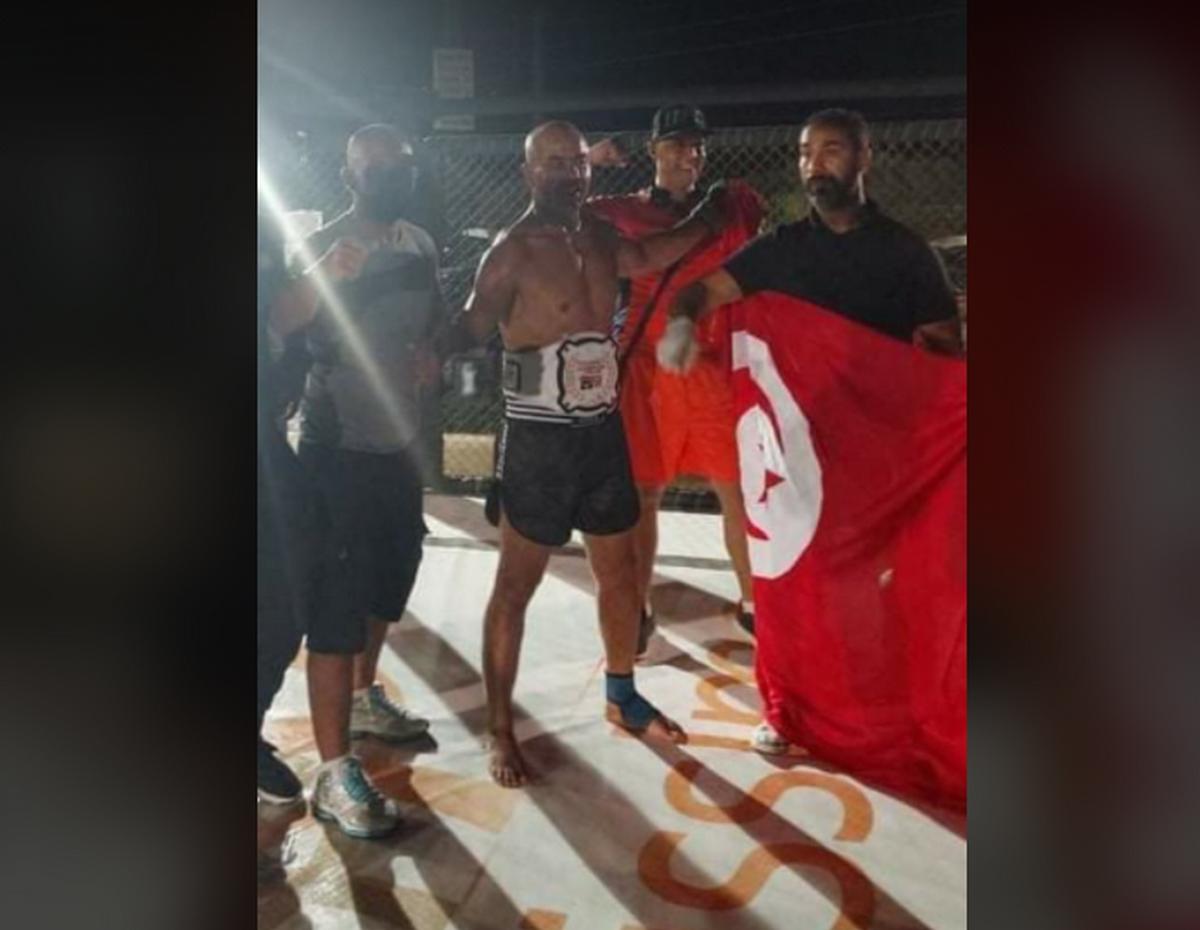 الحبيب الحمروني يُتوج ببطولة تونس في رياضة قتال الشوارع
