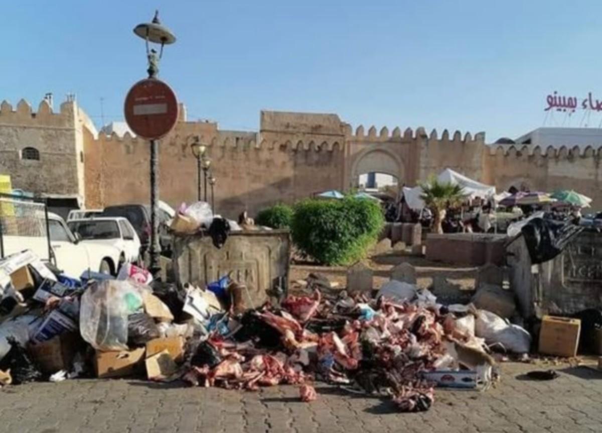 ملاحظات  حول  ازمة النفايات بصفاقس ...الازهر  التونسي