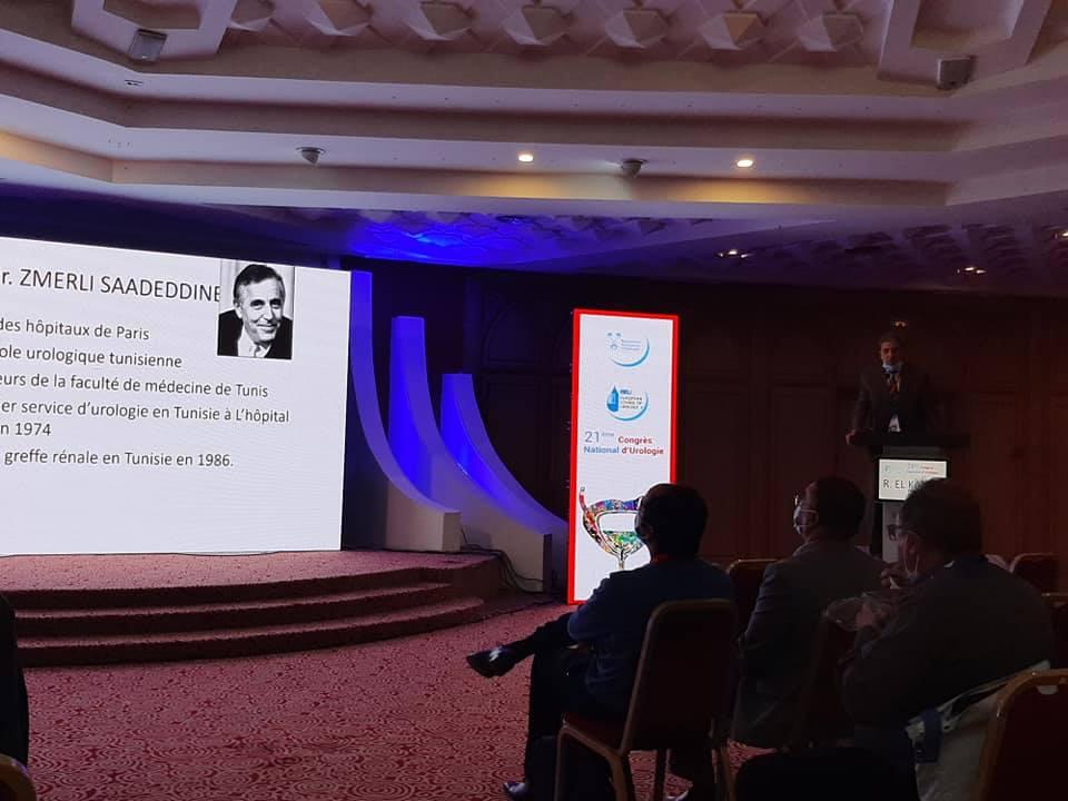 الجمعيّة التّونسيّة لجراحة المسالك البوليّة تكريم خاص للمؤسسين