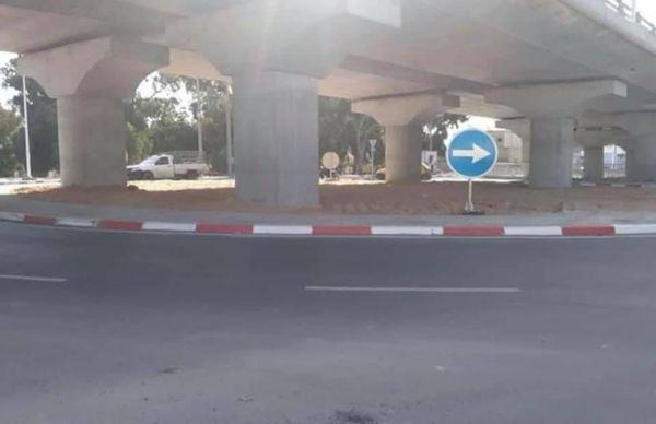 صفاقس مُحولّ طريق المطار جاهز