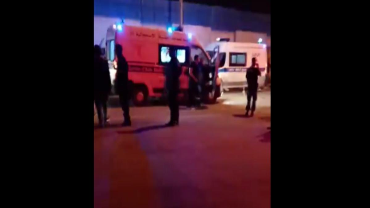 33 اصابة اثر اصطدام بين قطارين بمحطة مقرين الرياض