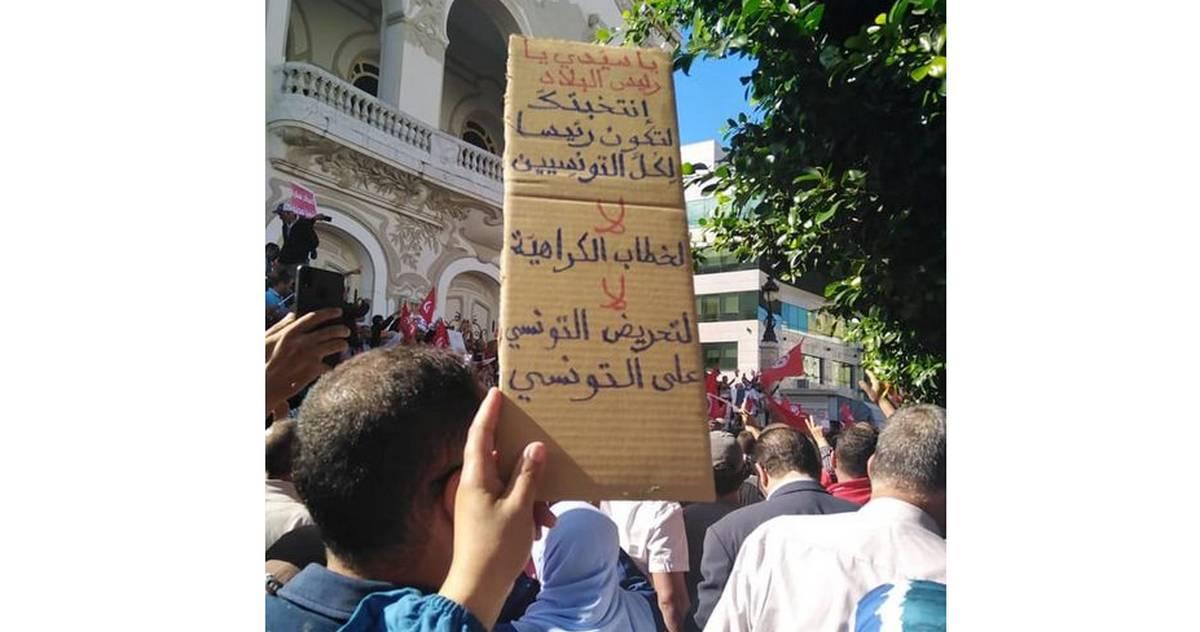 متى يفهم رئيس الجمهورية أنه رئيس لكل التونسيين...عماد  الدايمي