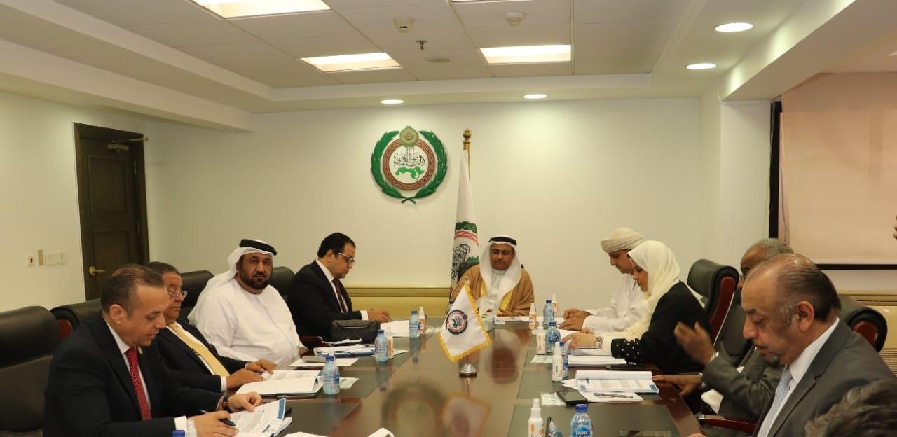 هيئة مكتب البرلمان العربي تعقد اجتماعها  برئاسة العسومي قبل انطلاق الجلسة العامة