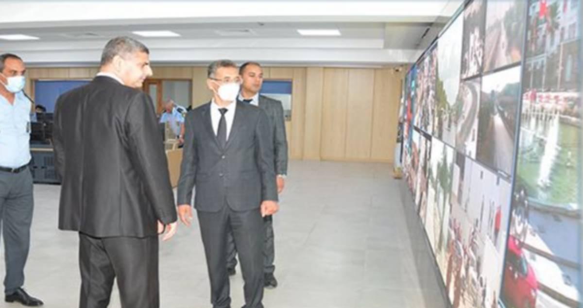 وزير الداخلية يؤدّي زيارة تفقدية للوحدات الأمنية بالعاصمة